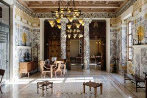 Villa Kérylos, salon (andron)