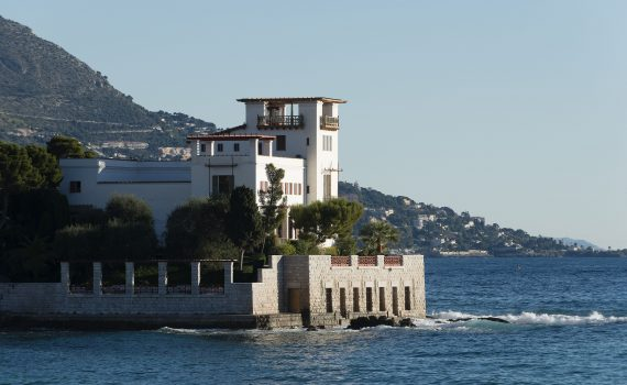 Villa Kérylos vue de la mer