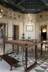 Villa Kérylos, salle à manger (triklinos)